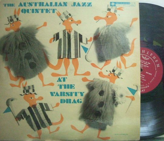 【米Bethlehem mono】The Australian Jazz Quintet/At The Varsity Drag (Frank Capp)