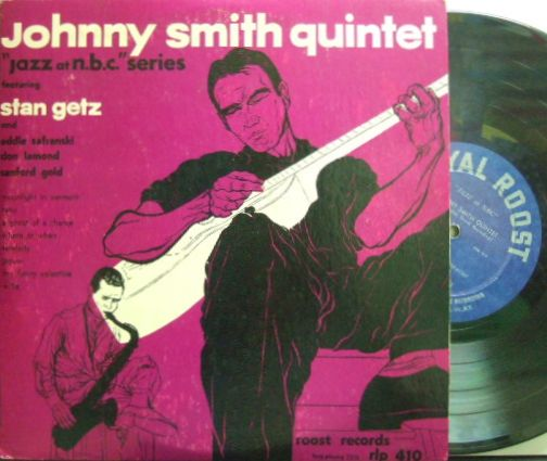 【米Roost mono】Johnny Smith/Jazz At NBC (Moonlight In Vermont) with Stan Getz
