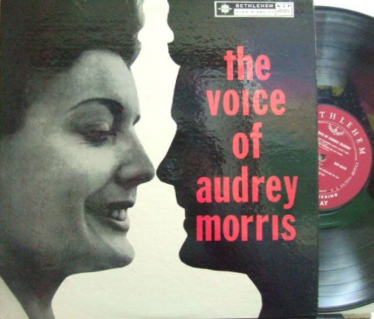 【米Bethlehem mono】Audrey Morris/The Voice of Audrey Morris (with Marty Paich)