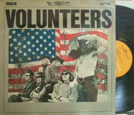 【英RCA】Jefferson Airplane/Volunteers