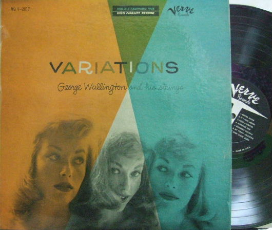 【米Verve mono】George Wallington/Variations
