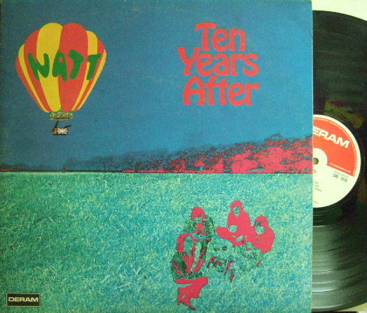【英Deram】Ten Years After/Watt
