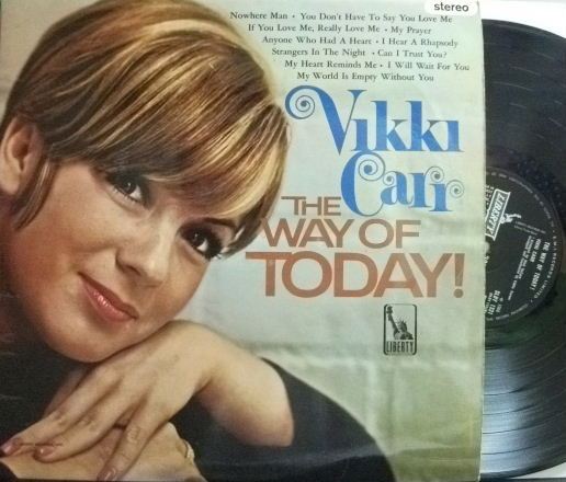 【英EMI/Liberty】Vikki Carr/The Way of Today