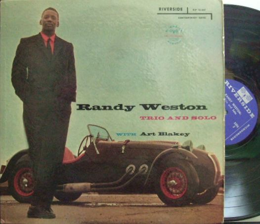 【米Riverside mono】Randy Weston/Trio and Solo (Art Blakey)