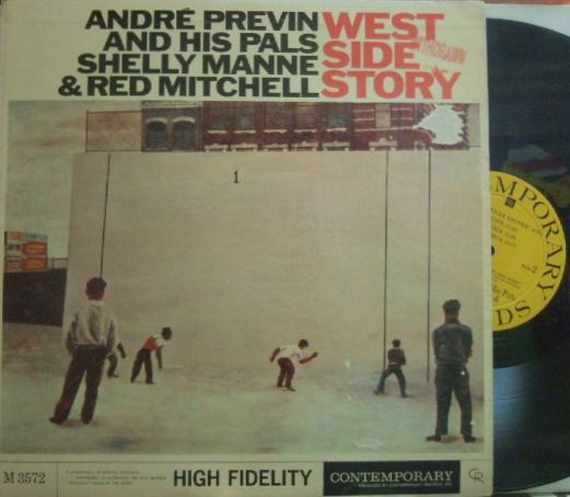【米Contemporary mono】Andre Previn & His Pal, Shelly Manne & Red Mitchell/West Side Story