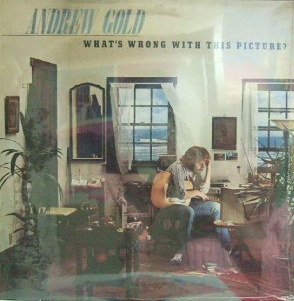 【英Asylum】Andrew Gold/What's Wrong With This Picture? (新品 未開封)