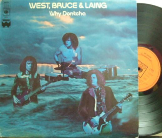【英CBS】West Bruce & Laing/Why Dontcha