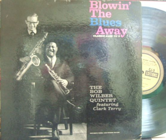【米Classic Jazz mono】Bob Wilber Quintet featuring Clark Terry/Blowin' The Blues Away