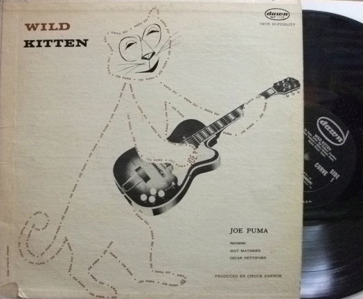 【米Dawn mono】Joe Puma/Wild Kitten (Oscar Pettiford, etc)