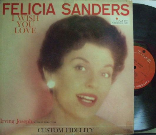 【米Time mono】Felicia Sanders/I Wish You Love