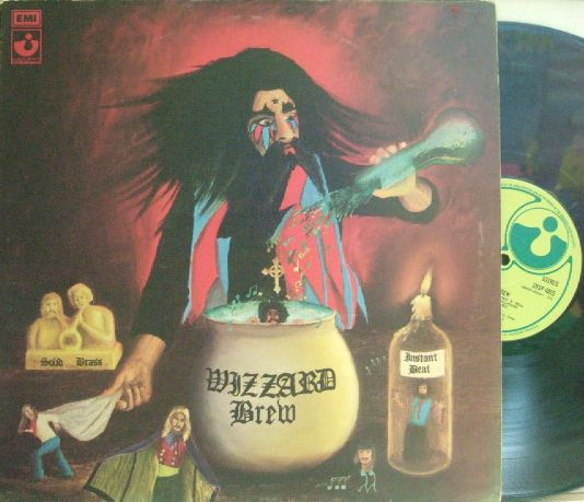 【英Harvest】Wizzard/Wizzard Brew (Roy Wood) グラモフォン・リム