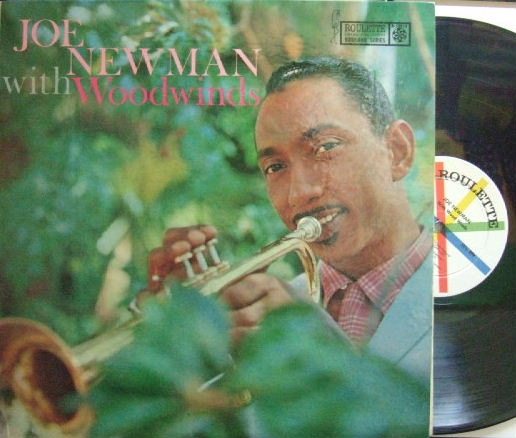 【米Roulette mono】Joe Newman/With Woodwinds