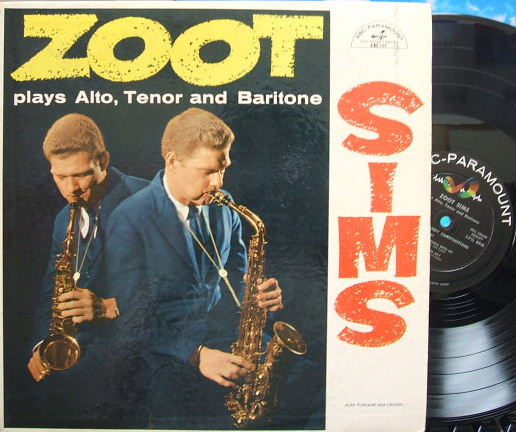 【米ABC-Paramount mono】Zoot Sims/plays Alto, Tenor and Baritone