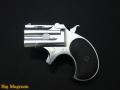xカート ミニミニデリンジャー シルバーabs 6mmbb 鉛メッキ弾頭