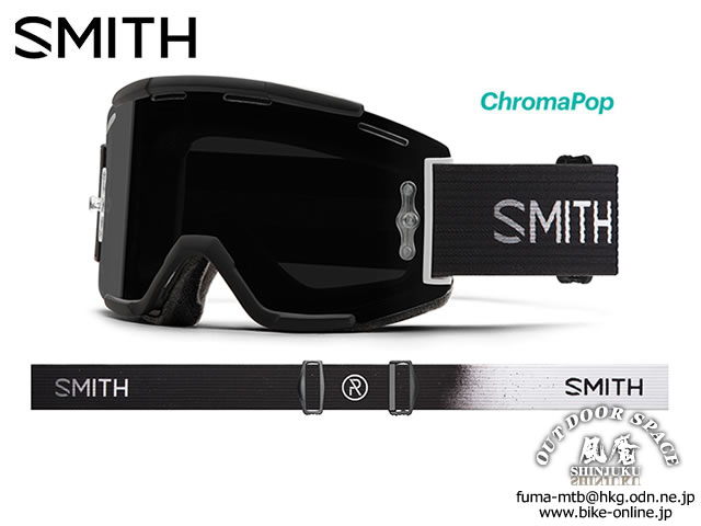 SMITH [ Squad MTB Goggle ] Brandon Semenuk  AC - ChromaPop Sun Black 【GROVE青葉台】