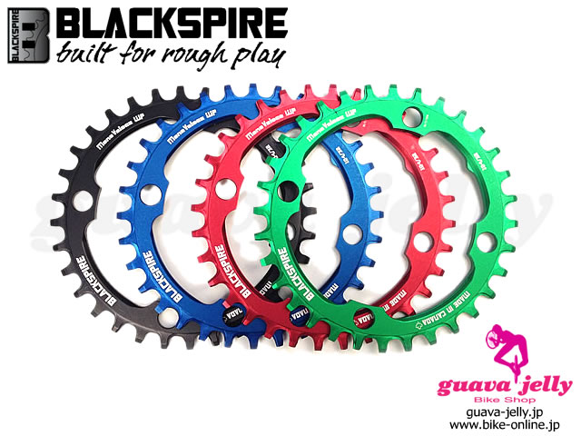 BLACKSPIRE [ MONOVELOCE WP 104BCD CHAINRINGS ] 32T �����⿷�ɡ�