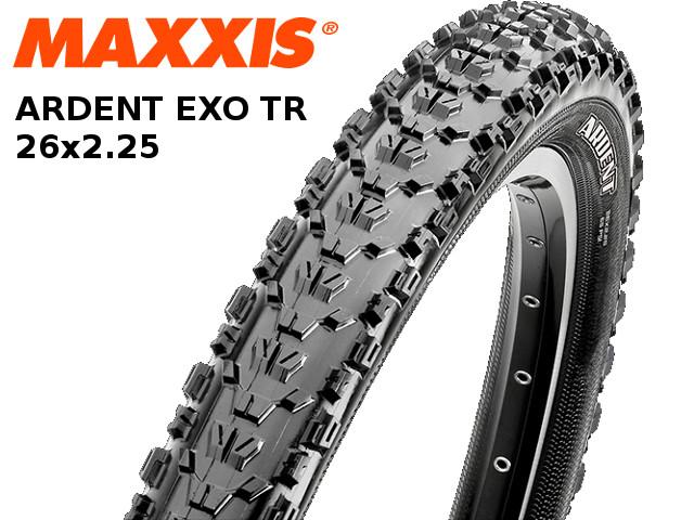 MAXXIS [ ARDENT EXO TR ] 26��2.25 ���塼�֥쥹��ǥ� �����⿷�� ���ڥ�����