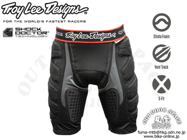 Troy Lee Designs [ LPS7605 Shorts Guards ] 【GROVE青葉台】