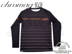 Chromag [ DOMINION Long Sleeve Jersey ]  Black 【GROVE青葉台】