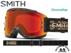 SMITH [ Squad MTB Goggle MTB用ゴーグル ] Rheeder ID - ChromaPop Everyday Red Mirror 【風魔横浜】