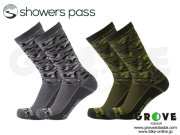 SHOWERS PASS [ LIGHTWEIGHT WATERPROOF SOCKS / CROSSPOINT CAMO  ] 完全防水 【GROVE青葉台】