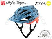 Troy Lee Designs [ A2  Helmet Mips ] PINSTRIPE / Blue/Red 【風魔新宿】