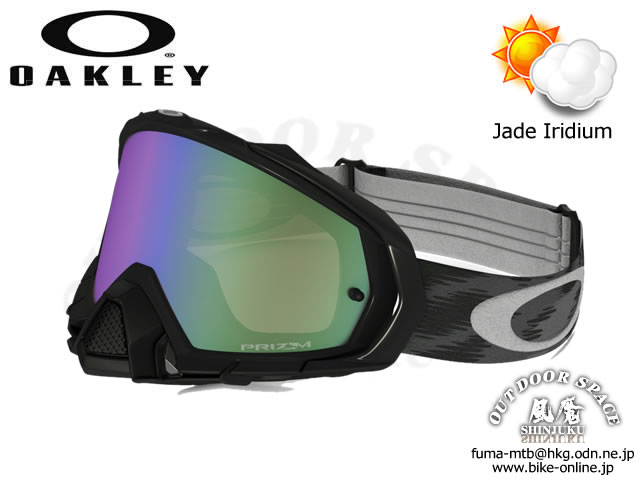 ※店頭対面販売限定品 OAKLEY [ Mayhem Pro MX ] Jet Black / Prizm MX Jade Iridium 【GROVE青葉台】