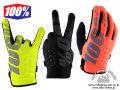 100% [ BRISKER Gloves ] 防寒グローブ Black/Yellow/Cal-Trans 【風魔新宿】