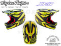 Troy Lee Designs [ D3 Carbon HELMET ] Reflex Carbon Yellow|XLサイズ 【風魔新宿】