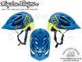 Troy Lee Designs [ A1 All-Mountain Helmet ] Drone Navy/Yellow 【風魔新宿】