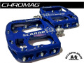 CHROMAG [ SCARAB Pedals ] Blue (Paint) 【風魔横浜】