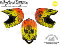 Troy Lee Designs [ D3 COMP HELMET MIPS ] RAVAGE ORANGE 【風魔新宿】 ※メーカーお取り寄せ