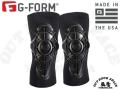 G-Form [ Pro-X Knee Guard ひざ用プロテクター ] ブラックxグレー 【風魔横浜】