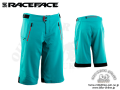 Race Face [ INDIANA WOMENS Shorts 2017 ] TURQUOISE 【風魔新宿】
