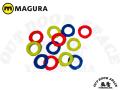 MAGURA [ キャリパー・カバープレート ] 4ピストン用 4枚入り 【風魔横浜】