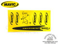 MAVIC [ Logo & Chainstay Decal Set ] ���ƥå��������� �����⿷�ɡ�