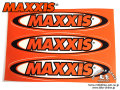 MAXXIS [ Logo Decal ] 263��60mm��3�祻�åȡ����ƥå��������� �����⿷�ɡ�