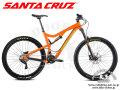 "SANTA CRUZ [ 2015 5010 C カーボン 650b(27,5"") 完成車 ] Orange & Lime Green / Sサイズ 【風魔新宿】"