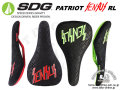SDG [ PATRIOT SENSUS RL ] Black Red/Neon Green 【風魔新宿】