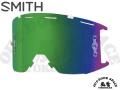 SMITH [ Squad MTB Goggle ゴーグル用 リプレースメント・レンズ ] ChromaPop Sun Green Mirror 【風魔横浜】