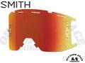 SMITH [ Squad MTB Goggle ゴーグル用 リプレースメント・レンズ ] ChromaPop Everyday Red Mirror 【風魔横浜】