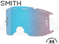 SMITH [ Squad MTB Goggle ゴーグル用 リプレースメント・レンズ ] ChromaPop Contrast Rose Flash 【風魔横浜】
