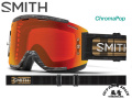 SMITH [ Squad MTB Goggle MTB用ゴーグル ] Rheeder ID - ChromaPop Everyday Red Mirror 【風魔横浜】