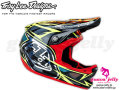 Troy Lee Designs [ D3 CARBON HELMET ] Speeda Yellow �����⿷�ɡ�