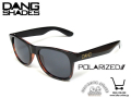 DANG SHADES [ LOCO ] Gloss Dark Brown Tortoise x Lt Grey Grad Polarized 【風魔新宿】