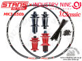 完組ホイール [ STAN'S NOTUBES FLOW MK3 650b (27,5インチ) × INDUSTRY NINE TORCH Classic Hub ] 32H F&R WHEEL SET 【風魔新宿】