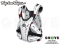 Troy Lee Designs [ BG5900 CHESTPROTECTOR ] WHT 【GROVE鎌倉】