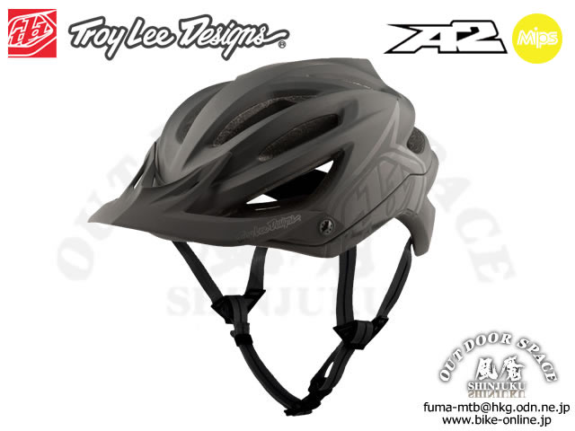 Troy Lee Designs [ A2  Helmet Mips ] DECOY / Black 【風魔新宿】