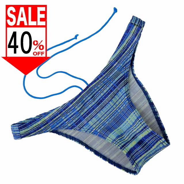 【アスリート系 競泳パンツ】ローライズ・インテリジェントブルー・スイムレーサー