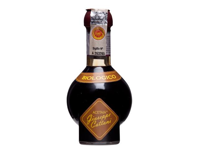 有機JAS認証 バルサミコ・トラディショナーレ ビオ 12年熟成(オーガニックバルサミコ酢)イタリア産[100ml]【常温便】